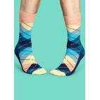 Мужские цветные носки ромбы 6