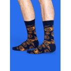 Мужские цветные носки огурец 2