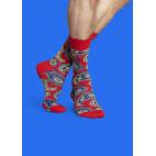 Мужские цветные носки огурец 5