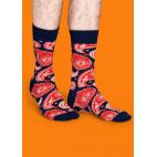 Мужские цветные носки огурец 8