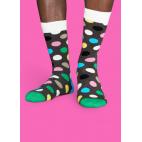 Мужские цветные носки горошек 1