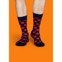 Мужские цветные носки горошек 3