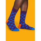Мужские цветные носки горошек 4