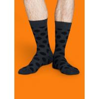 Мужские цветные носки горошек 7