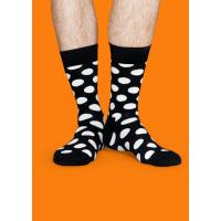 Мужские цветные носки горошек 9