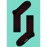 Мужские цветные носки горошек 16