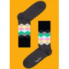 Мужские цветные носки ромбы 9