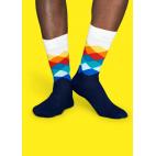 Мужские цветные носки ромбы 10