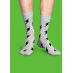 Мужские цветные носки молния