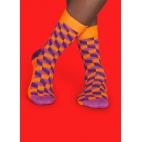 Мужские цветные носки кубы 1