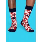 Мужские цветные носки цветы 1