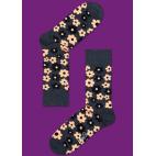 Мужские цветные носки цветы 2
