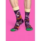 Мужские цветные носки цветы 3