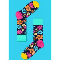 Мужские цветные носки цветы 4
