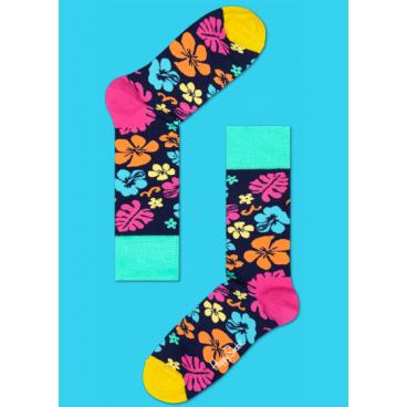 Носки цветы 4