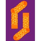 Мужские цветные носки жираф 1