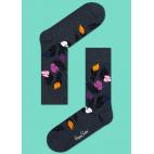 Мужские цветные носки перья 2