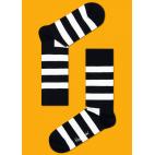 Мужские цветные носки в полоску 7